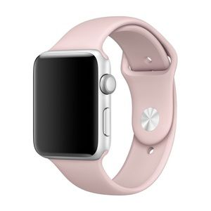 NEW Pink Sand Silicone Sport Band For Apple Watch